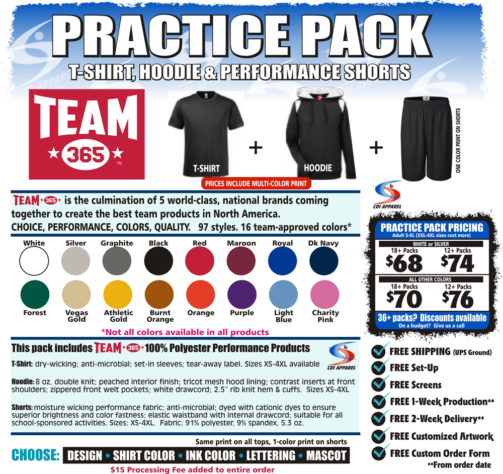 Practice-Team-Pack-T-Shirt-Hoodie-Sweatshirt-Shorts-Hooded-Team-365