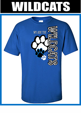 free sample Spiritwear shirt wildcats