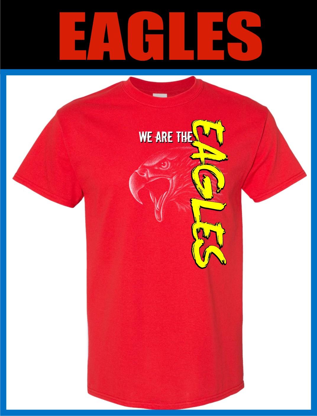 free sample Spiritwear shirt eagles